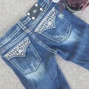 Miss Me Denim Boot Cut Jeans JE5168R